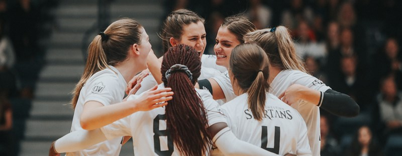 NO. 2 SPARTANS EARN SEVENTH STRAIGHT WIN