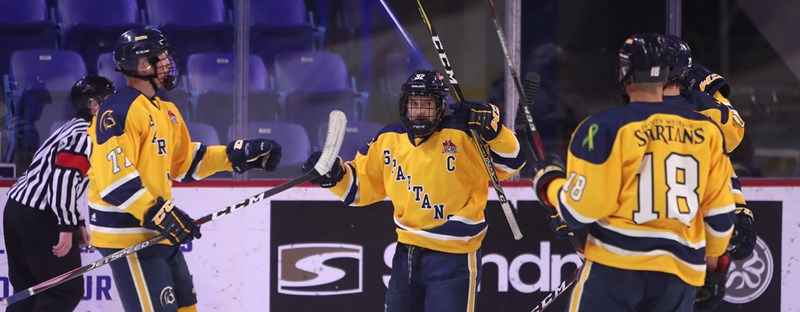 LABELLE MAKES 46 SAVES AS SPARTANS WIN EIGHTH STRAIGHT GAME