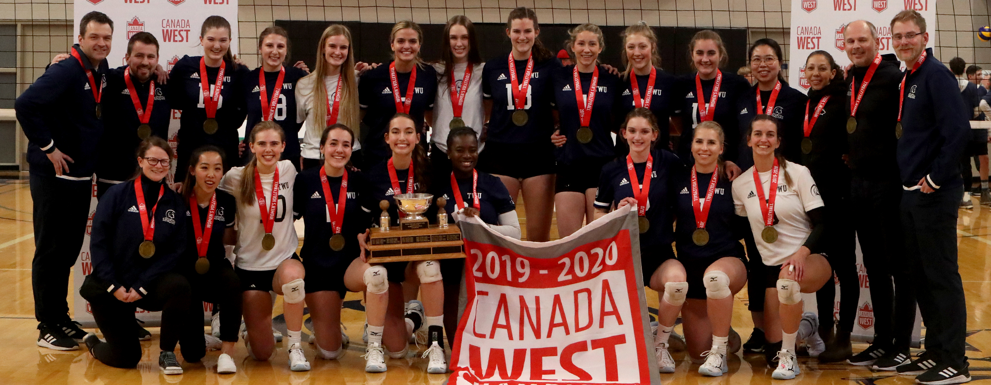 Spartans Win Second Straight Canada West Championship Trinity Western University